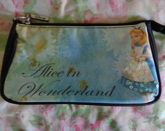 Vintage Alice and Wonderland Clutch Bag
