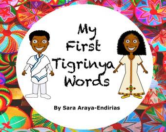 First Tigrinya Words Book