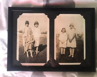 Vintage Photos - New Hats for the Girls