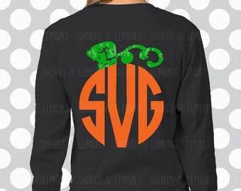 halloween svg, SVG, pumpkin svg, halloween clip art, halloween, monogram svg, dxf, Digital Download, clip art, commercial use, eps, stem svg