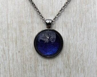 Blue-Purple Pendant