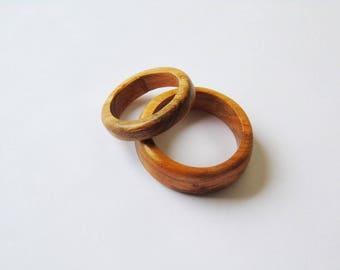 Apricot wood rings August Dark-rock-Origin