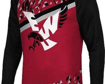 Spectrum Sublimation Men's Eastern Washington University Brilliant Long Sleeve