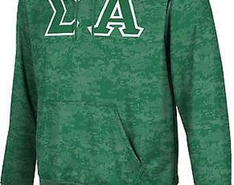 ProSphere Men's Sigma Alpha Digital Pullover Hoodie ()