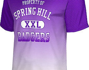 ProSphere Men's Spring Hill College Zoom Tech Tee (SHC)