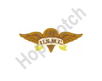 Marine Corp Emblem Embroidery Design