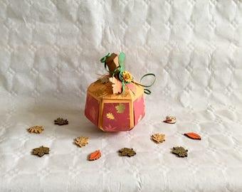Pumpkin, autumn, Halloween, Thanksgiving, Thanksgiving, paper, gift packaging, box, decoration