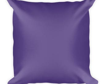 Ultra Violet Purple Cushion | Pantone Colour of the year 2018 | Square Pillow