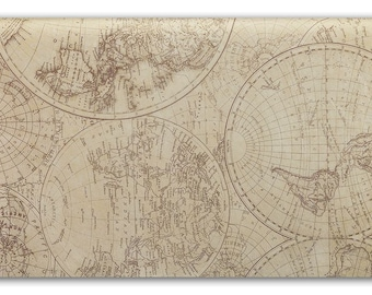 World Map   Tissue Paper, Tissue Paper, 10 large sheets, Gift Wrap