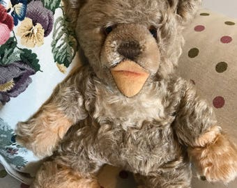Vintage mohair teddy bear possibly steiff lully.