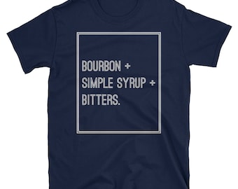 Bitters, simple syrup, bourbon