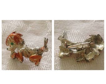 On Sale Cute Vintage Dog Scatter Pin