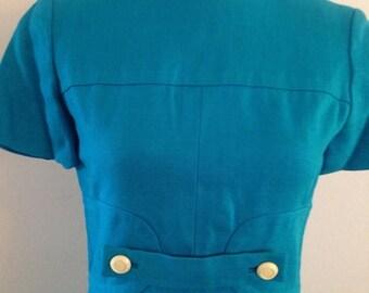On Sale Beautiful Vintage Irish Linen Dress
