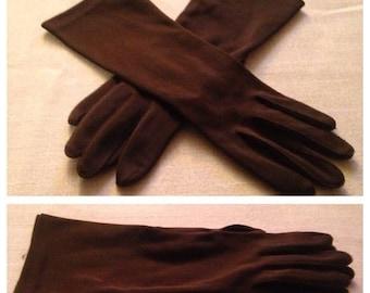 On Sale Vintage Brown Gloves