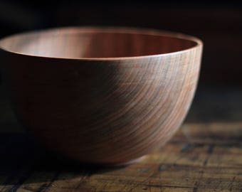 A beautiful Cherry Serving Bowl.