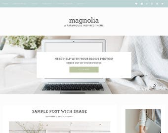Magnolia - A simple WordPress theme for bloggers