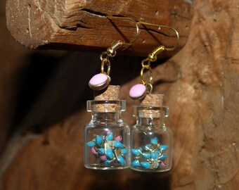 BO vial & chain spike & Sequins