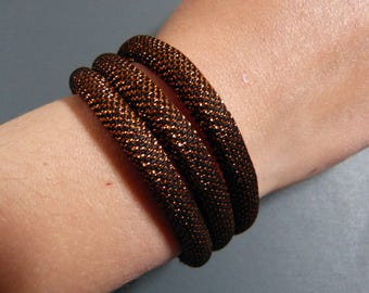 Bracelet Disco polyester & lurex
