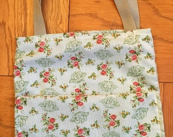 Cabbage Patch Kid Rose Tote Bag - Vintage Fabric