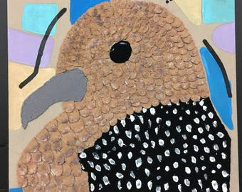 Spotted Dove Wall Hanging