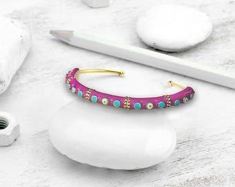 BiggDesignEvil Eye Pink Bracelet