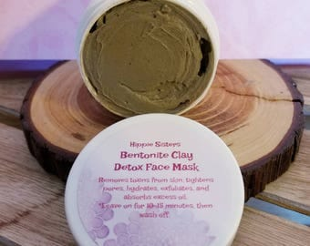 Lavender Bentonite Clay Face Mask 2 oz