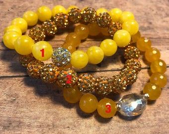 Golden Lace Bracelets