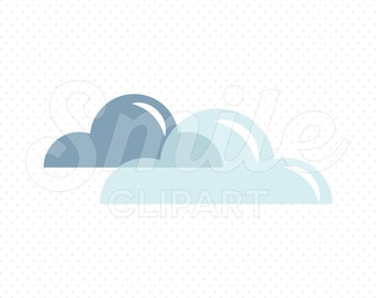 CLOUD Clipart Illustration for Commercial Use | 0014