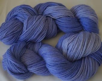 Alpaca yarn 8 ply , 400grms  in shades of Lavender