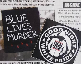 Blue Lives Murder Patch