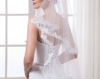 Handmade Wedding Veil '' Eva''