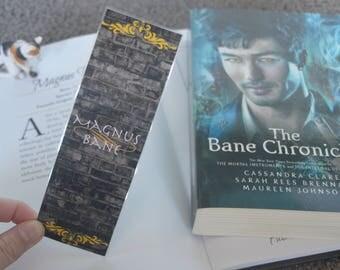 Magnus Bane Bookmark
