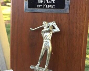 Vintage 1975 Golf Trophy