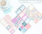 Happy Easter - Weekly Kit Stickers for Erin Condren Vertical LifePlanner