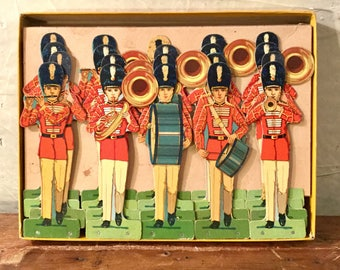 Soldiers on Parade, Milton Bradley, Boxed Set, Ca: 1920s.