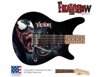 VENOM Electric Guitar - Free US Shipping - Spiderman