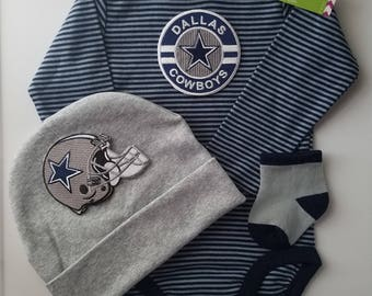 Cowboy baby etsy dallas cowboys baby outfit dallas cowboys baby shower gift dallas cowboys take home negle Gallery