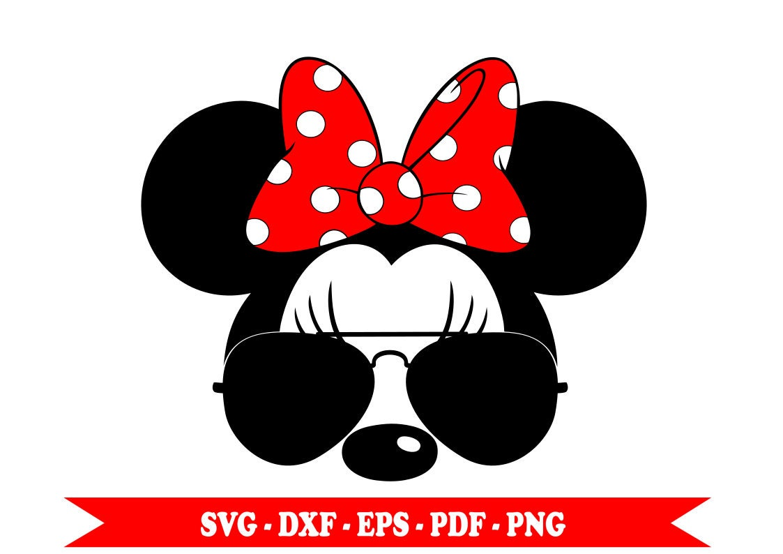 red minnie mouse christmas ears