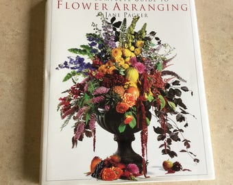 Complete Guide to Flower Arrangement. Vintage. Collectible.