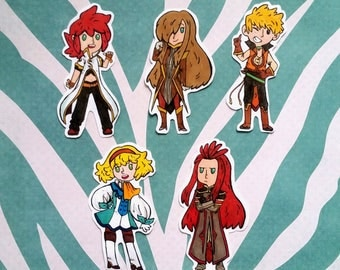 Tales of the Abyss Stickers
