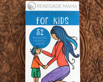 Kid's Affirmation Cards for Self Love and Confidence by The Renegade Mama