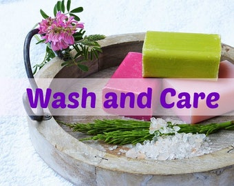 My Wash and Care Routine and Tips-------------------This listing is for info purposes only