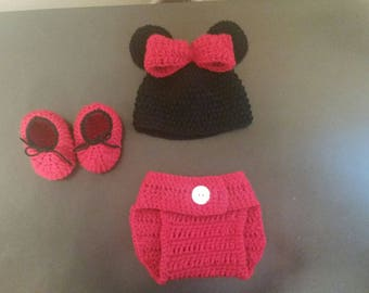 Minnie mouse inspired