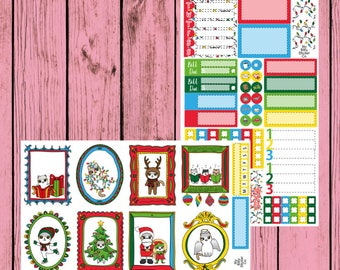 Christmas Mauly  - 2 page mini kit - Holiday Mauly
