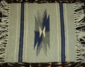 Authentic Vintage Native American rug/wall decor.