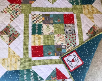 Custom Handmade Heirloom Quilt DEPOSIT