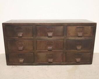 vintage schrank etsy. Black Bedroom Furniture Sets. Home Design Ideas
