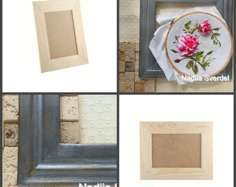 Decorative frame without glass