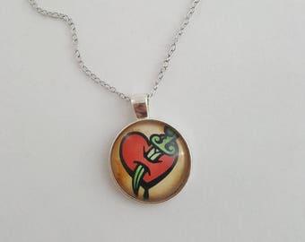 Bioshock Possession Vigor Necklace, Bioshock Infinite Inspired Jewelry