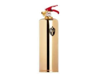 Designer Fire Extinguisher - BRASS